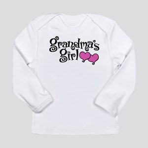 Grandma's Girl Long Sleeve Infant T-Shirt