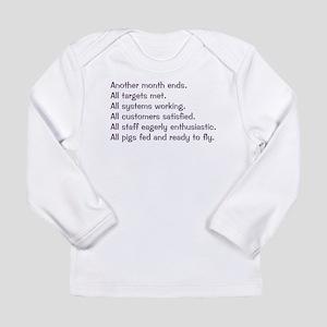 67eadc54 All Targets Met Long Sleeve Infant T-Shirt
