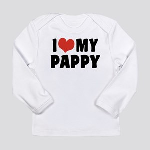 I Love My Pappy Long Sleeve Infant T-Shirt