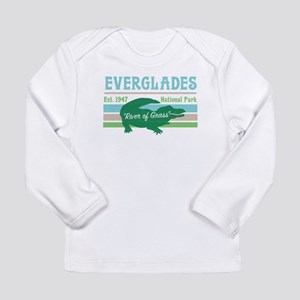 Everglades National Park Allig Long Sleeve T-Shirt