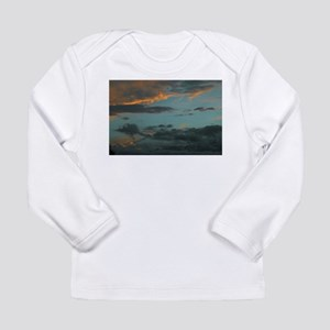 Sunset Storm Clouds Long Sleeve Infant T-Shirt