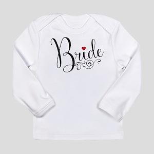 c7b1c791 Elegant Bride Long Sleeve Infant T-Shirt