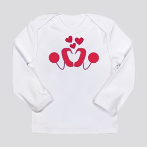 Cochlear Implant Love Long Sleeve Infant T-Shirt