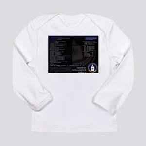 cia unix Long Sleeve Infant T-Shirt