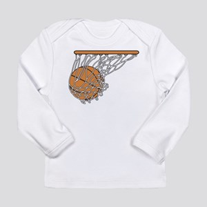 Basketball117 Long Sleeve Infant T-Shirt