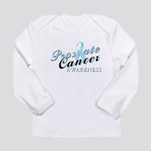 Prostate Cancer Awareness Long Sleeve Infant T-Shi