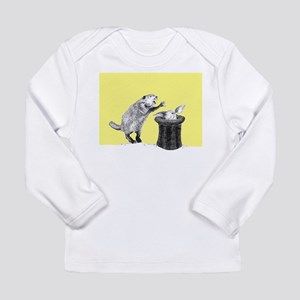 Yellow beaver and rabbit Long Sleeve T-Shirt