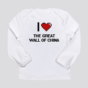 I love The Great Wall Of China Long Sleeve T-Shirt
