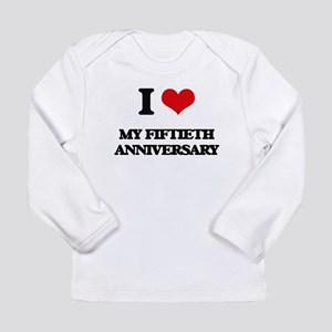 I Love My Fiftieth Anniversary Long Sleeve T-Shirt