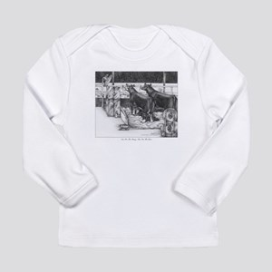One for the money Long Sleeve Infant T-Shirt