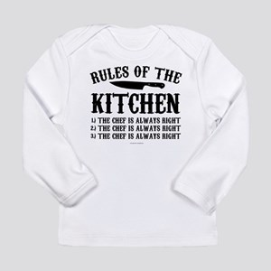 cf6542cbf Rules of the Kitchen Long Sleeve T-Shirt