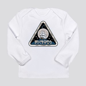 Europa Clipper Logo Long Sleeve Infant T-Shirt