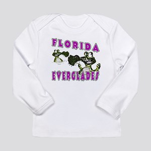 Florida Everglades Alligators Long Sleeve Infant T