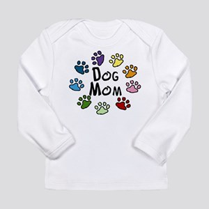 Dog Mom Long Sleeve Infant T-Shirt