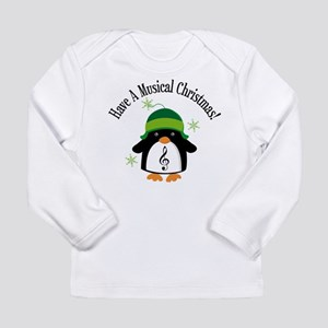 Musical Christmas Penguin Gift Long Sleeve Infant
