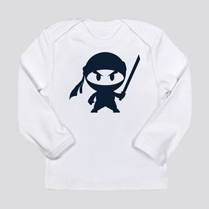 Angry ninja Long Sleeve Infant T-Shirt