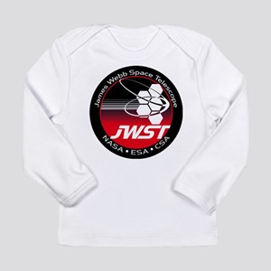 JSWT NASA Program Logo Long Sleeve Infant T-Shirt