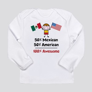 Custom add flag and cou Long Sleeve Infant T-Shirt