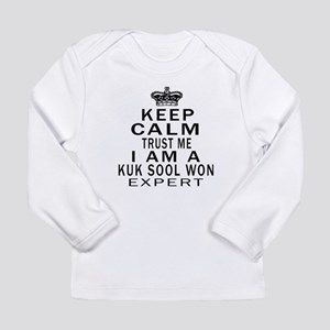Kuk Sool Won Expert Des Long Sleeve Infant T-Shirt