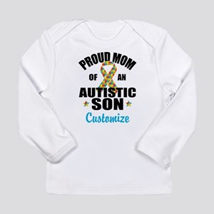 Autism Mom Long Sleeve Infant T-Shirt