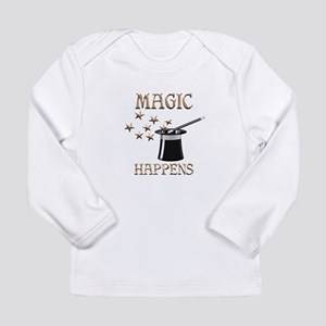 Magic Happens Long Sleeve Infant T-Shirt