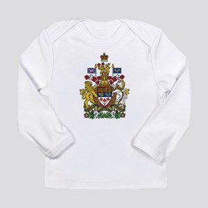 Canada Coat Of Arms Long Sleeve T-Shirt