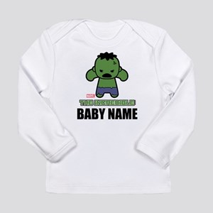 Personalized Incredible Hulk Long Sleeve T-Shirt