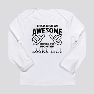 This is what an Kuk Soo Long Sleeve Infant T-Shirt