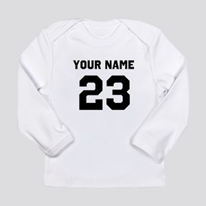 Customize sports jersey Long Sleeve Infant T-Shirt