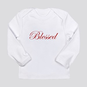 4256a86c8 Red Blessed Long Sleeve Infant T-Shirt