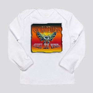 Enlightenment gives you wings Long Sleeve Infant T