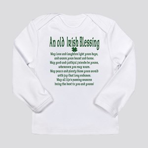 Old irish Blessing Long Sleeve Infant T-Shirt