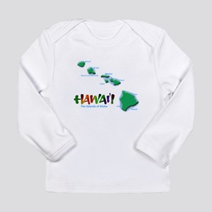 Hawaii Islands Long Sleeve T-Shirt