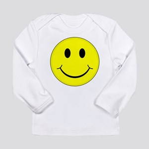 Classic Smiley Face Long Sleeve T-Shirt