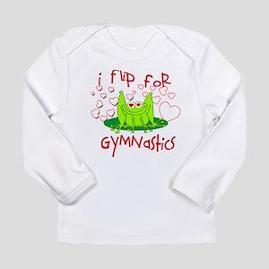 9da81a129fb4 I Flip for Gymnastics Long Sleeve Infant T-Shirt