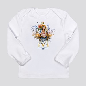 Immaculate Heart of Mary Long Sleeve Infant T-Shir