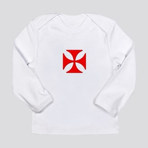 TILE EAC white RED Long Sleeve T-Shirt