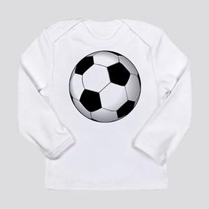 Soccer Ball Long Sleeve Infant T-Shirt