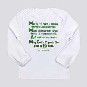 Irish May the Road Long Sleeve Infant T-Shirt