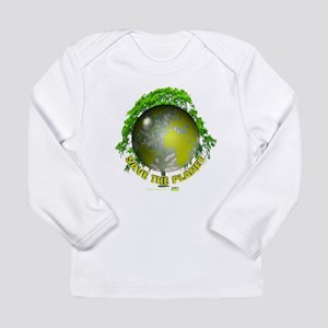 Save the Planet Long Sleeve Infant T-Shirt