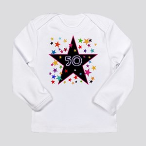 50th! Festive, Birthday, Anniversary! Long Sleeve
