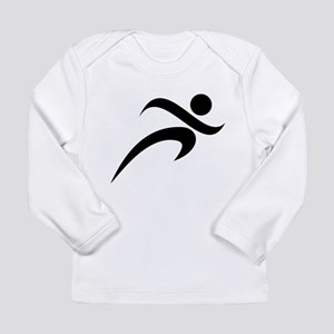 Running Long Sleeve Infant T-Shirt