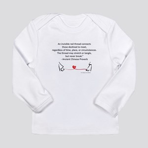Red Thread Proverb Long Sleeve Infant T-Shirt