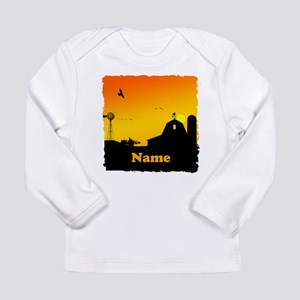 Sunrise at the Farm Long Sleeve Infant T-Shirt