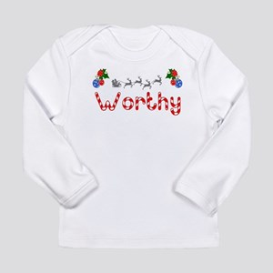 Worthy, Christmas Long Sleeve Infant T-Shirt