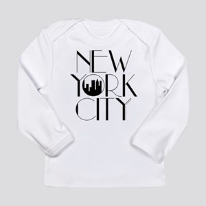 Long Sleeve New York City T-Shirt (Grey avail.) Lo