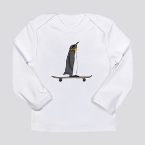 Cool Penguin Long Sleeve T-Shirt
