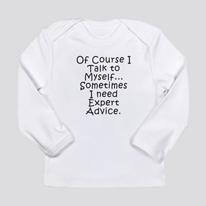 Talk to Myself Long Sleeve T-Shirt