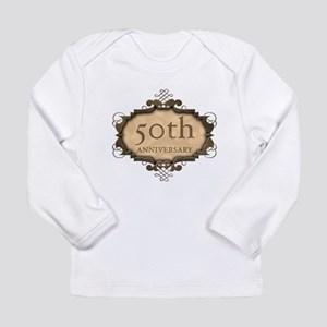 50th Aniversary (Rustic) Long Sleeve Infant T-Shir