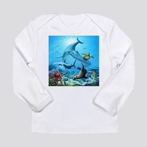Ocean Life Long Sleeve T-Shirt